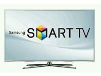 "Samsung 55"" LED smart 3D wi-fi tv builtin USB media player HD freeview fullhd 1080p"