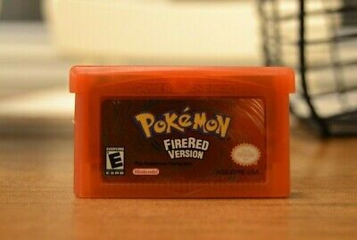 FREE SHIPPING - Pokemon Fire Red - GBA USA Seller
