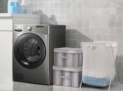 LG 15KG FRONT LOAD WASHER/DRYER COMBO WITH TRUE STEAM