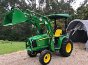 John Deere 3036E Tractor And Loader Tweed Heads Region Preview