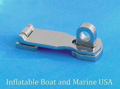 (Boat Swivel Eye Locking Hasp latch- Hardware- 3