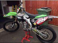 Kxf 250 motocross bike