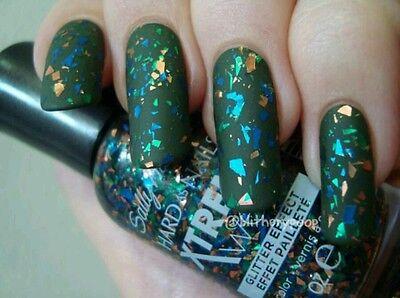 Sally Hansen Hard As Nails Xtreme Wear Nail Polish Glitter, mind your manors#930