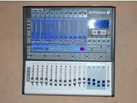 Presonus StudioLive 16.0.2- 16-Channel Digital Mixing Desk - Flight Case-Manual -Cables. Exc