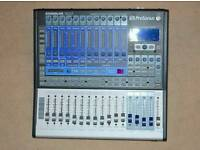 Presonus studiolive 1602 with Ipad
