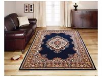 RUG NEW! Maestro Traditional Navy Persian look Rug - 200x290cm from Argos