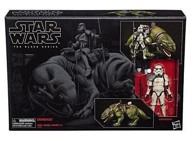 Star Wars Black Series Dewback With Sandtrooper 6  Figure Hasbro In Stock