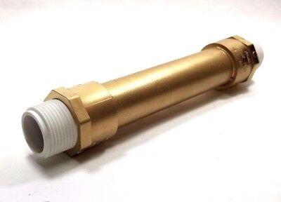 Water Meter Idlerspacer Tube For Full 34 Size Meter Pvc 9 Long Wgaskets