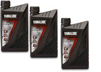 3 LITRI OLIO MOTORE SCOOTER MOTO ORIGINALE YAMAHA TMAX XMAX XCITY YAMALUBE 10W40
