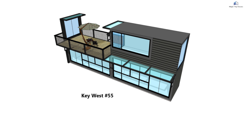 Shipping Container House Catalog L40/' X W8/' or L20/' X W8/'