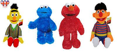 Sesame Street Plush   Elmo-Ernie-Bert-Cookie Monster,Official Licensed - Sesame Street Bert