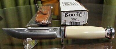 Bark River Knives - Boone - Bone White Micarta - CPM 3V