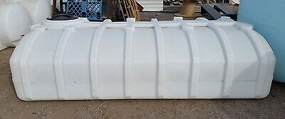1250 Gallon Low Profile Storage Water Hauling Poly Tank Norewsco
