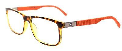 TOMMY HILFIGER TH 1446 L9G Men's Eyeglasses Frames 55-16-145 Havana / Orange (Tommy Hilfiger Glasses Mens)