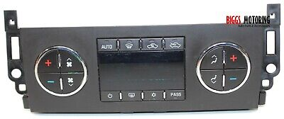 2007-2011 Chevy Avalanche Ac Heater Climate Control Unit 15932417