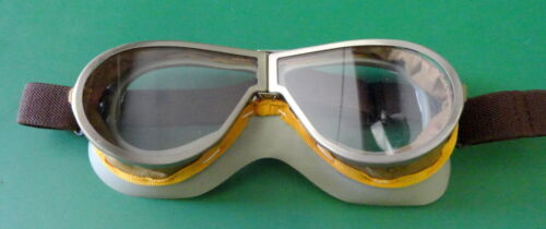 RESISTAL MODEL M-1938 TANKER GOGGLES- NEW CONDITION