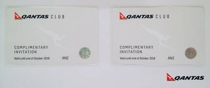 Qantas Club & International Business Lounge Pass x 2