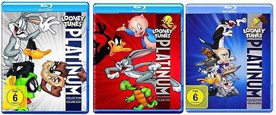 Looney Tunes Platinum Collection Volumes 1 3 Blu Ray Bundle Import English Audio
