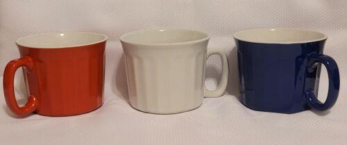 Royal Norfolk Soup Mugs with Handles  20 oz.