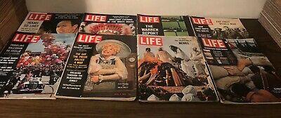 Vintage Life Magazine Lot 1960s World War 1 Nehru Cyprus Turks -