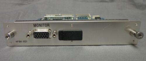 Sony HFBK-XG1 XGA Output Board