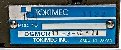 Vickers Tokimec DGMCR11-3-C-11 / 670796 Hydraulic Control Valve