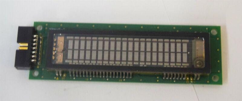 Futaba M202SD22AA 20×2 5×8 2.4×4.7 116.0×37.0×18.7 VFD Display w Cursor