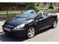 PEUGEOT 307CC (Hardtop Convertible) Electric Roof/Windows, White Leather, Drives Great, AirCon, MOT