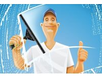 Window cleaning and other services..