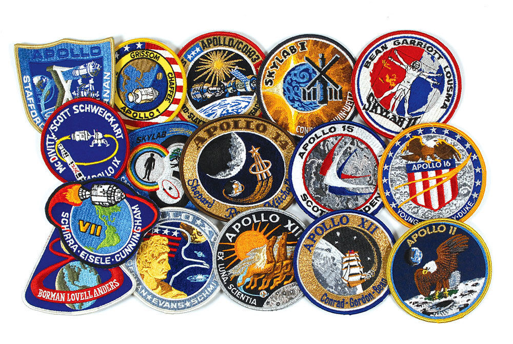 USAF SPACE PATCHES and MORE