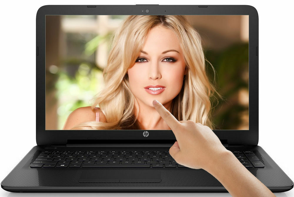 "HP 15.6"" TouchSmart Laptop QuadCore 2.50GHz 4GB 500GB DVD+RW HDMI Windows 10"