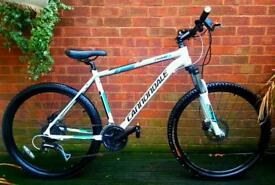 "Cannondale trail 6 bike aluminium dual hydraulic disc brakes,26""wheels,24 speed"