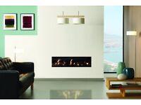 Frame-Less Balanced Flue Gas Fire (Brand New Incl Warranty)