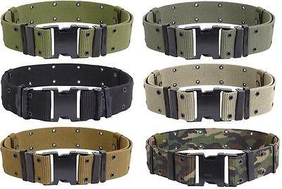 Pistol Belt Military Style Tactical Quick Release Nylon Pistol Web Belt You Choo
