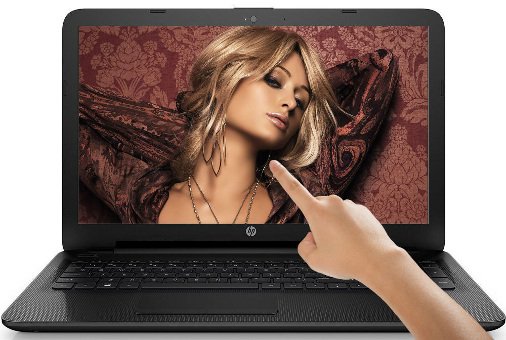 "$276.95 - HP 15.6"" TouchSmart Laptop QuadCore 2.50GHz 4GB 500GB DVD+RW HDMI Windows 10"