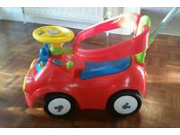 Mickey mouse 4 in 1 activity ride on