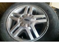 4 x ford focus wheels