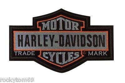 Harley-Davidson Nostalgic Bar & Shield Patch LG 7 1/4'' x 4 5/8'' EM313754