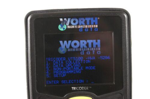 Worth Data LT5100 barcode scanner kit