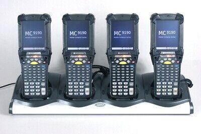 Lot Of 4 Symbol Mc9190-g30sweqc6wr Barcode Scanner Condensation Resistant