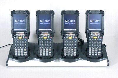 Lot Of 4 Symbol Mc9190-g30swgqa6wr Barcode Scanner Vt Keyboard