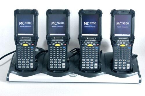Lot of 4 MC92N0-G30SXERC5WR 2D Windows Mobile 6.5 Condensation resistant