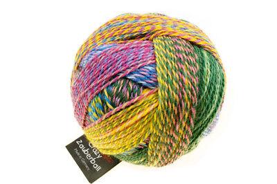 Winkel Ball (Crazy Zauberball 100g  Schoppel Farbe 2334 Malerwinkel  Wolle Sockenwolle NEU)
