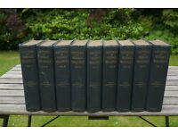 Letters of Horace Walpole in 9 volumes, Edited by Peter Cunningham