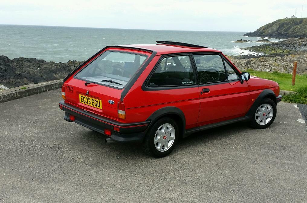 ford fiesta mk2 xr2 e reg in stranraer dumfries and galloway gumtree. Black Bedroom Furniture Sets. Home Design Ideas