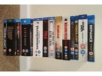 Blueray dvd boxsets