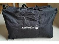 Pram system travel bag