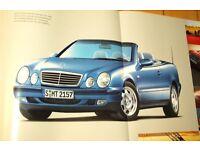 Prospekte Mercedes CLK Cabrio und Coupe  (C208 A208  ) ab  2007 Nordrhein-Westfalen - Leverkusen Vorschau