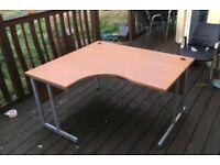 Complete office set-up. Conference table & chairs, 2 corner desks & 1 Director/Executive desk