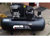 SIP Airmate air compressor 150 litre tank capacity